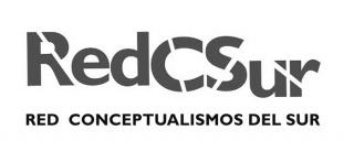Logotipo. Cortesía de Red Conceptualismos del Sur