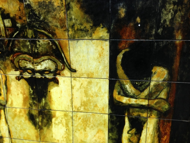 Mural Altar Porteño Estacion Callao Subte linea B