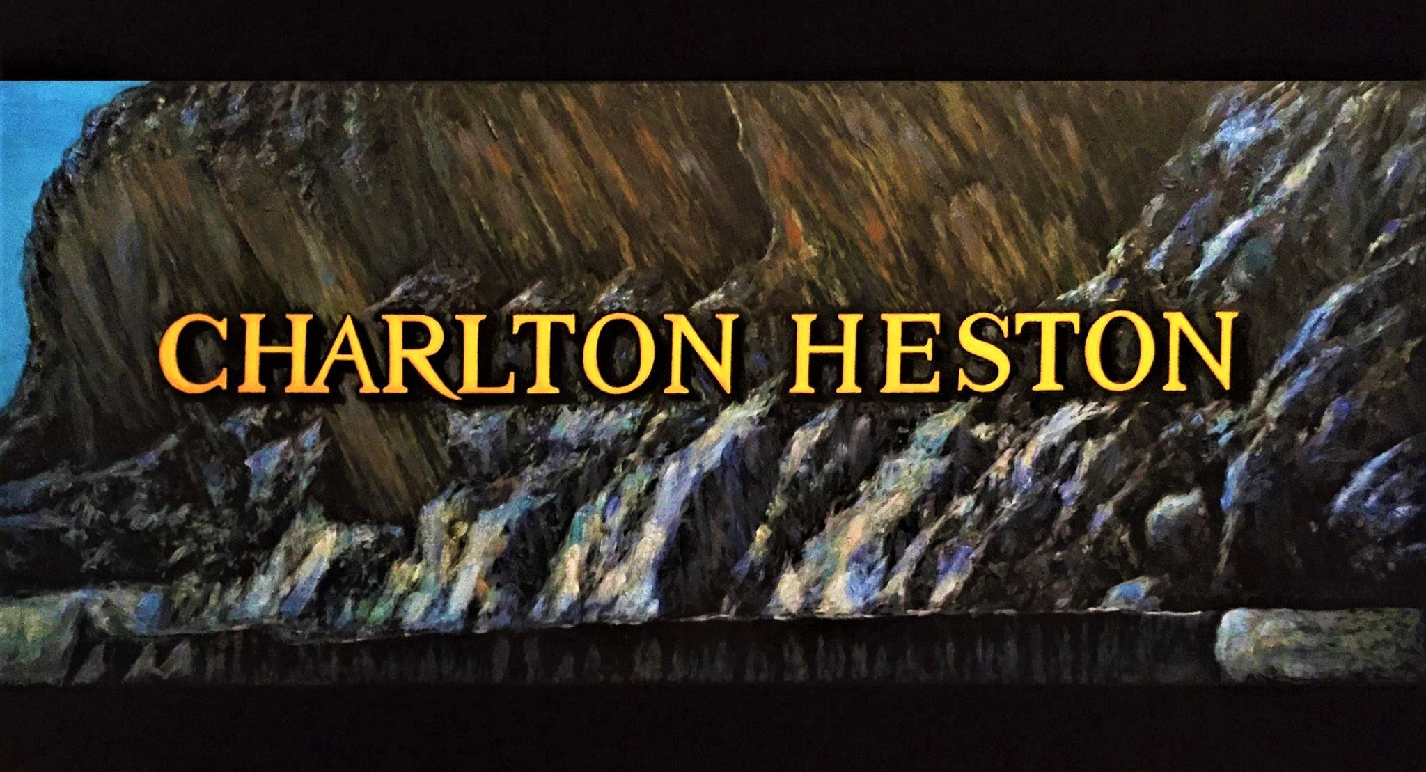 Charlton Heston (2017) - Héctor Meana