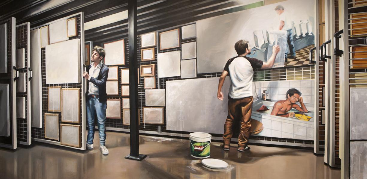 Dele color al difunto remake II (Depósito de museo) (2019) - Martín y Sicilia