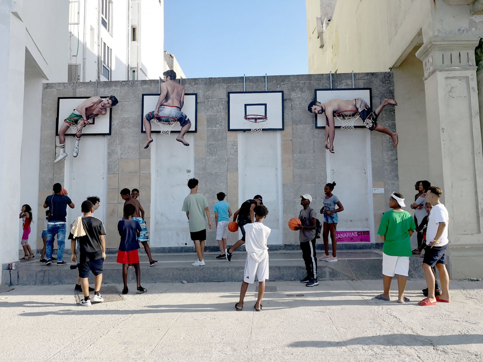 The basquet people (2019) - Martín y Sicilia